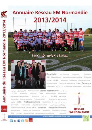 2013 – 2014 / E.M. Normandie / Annuaire
