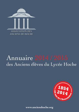 2014 – 2015 / Lycée Hoche Versailles / Annuaire