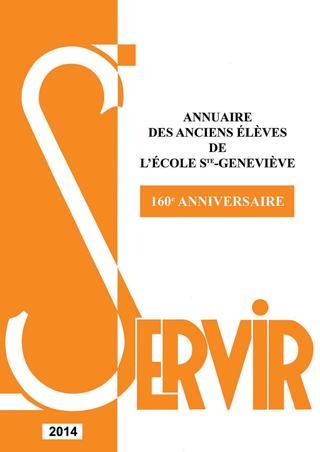 """2014 / Ecole Sainte-Geneviève """"Ginette"""" Versailles / Annuaire"""