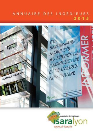 2015 / ISARA Lyon / Annuaire des Ingénieurs