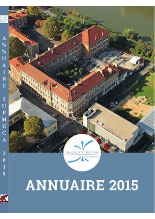 2015 / Supméca Alumni / Annuaire des Ingénieurs