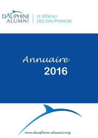 2016 / Université Paris Dauphine / Annuaire