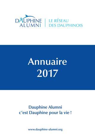 2017 / Université Paris Dauphine / Annuaire