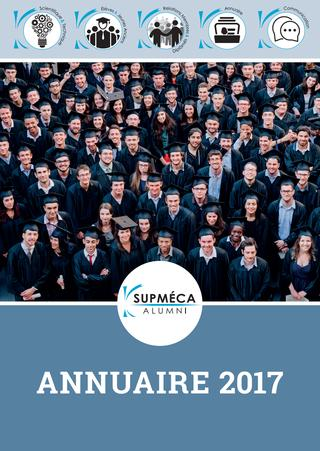 2017 / Supméca Alumni / Annuaire des Ingénieurs