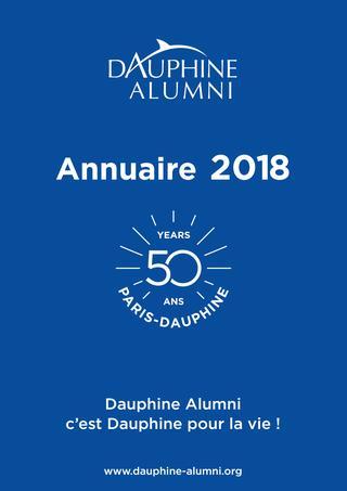 2018 / Université Paris Dauphine / Annuaire