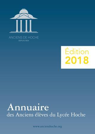 2018 / Lycée Hoche Versailles / Annuaire