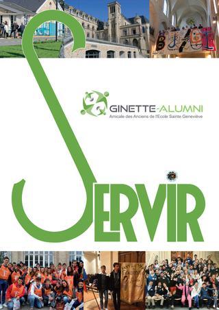 """2018 / Ecole Sainte-Geneviève """"Ginette"""" Versailles / Annuaire"""