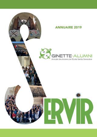 """2019 / Ecole Sainte-Geneviève """"Ginette"""" Versailles / Annuaire"""