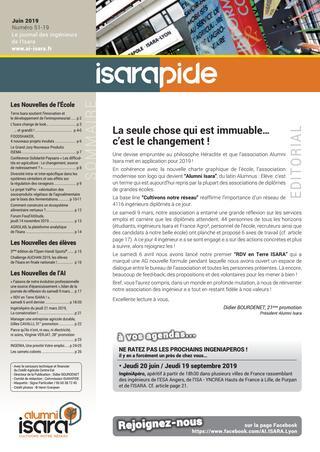 2019 / ISARA / Magazine ISARAPIDE # 52 (juin)
