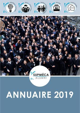 2019 / SUPMECA (ISAE) / Annuaire des Ingénieurs