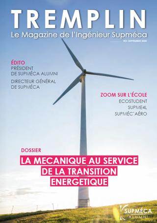 2020 / Supméca Alumni / Magazine TREMPLIN n°1